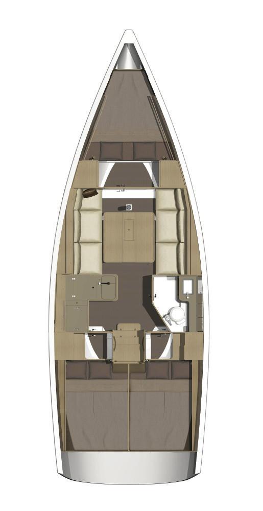 Dufour 350 Grand Large (PAPILLON)  - 2