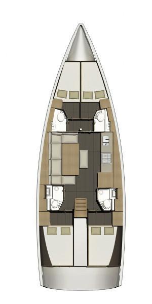 Dufour 460 Grand Large (SANTA ROSA)  - 1