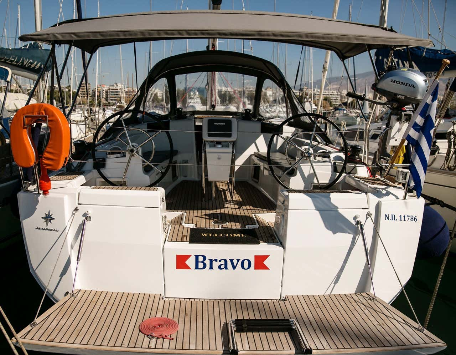 Sun Odyssey 449 (Bravo)  - 1