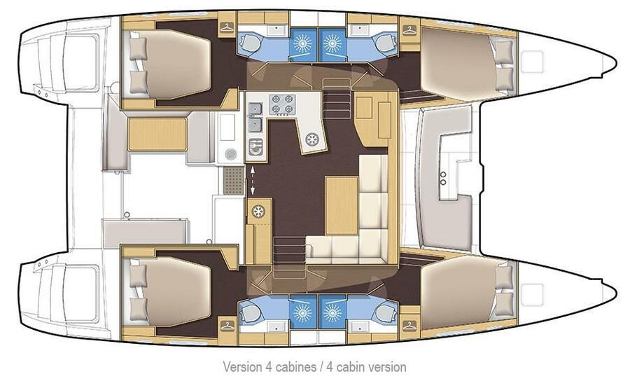 Lagoon 450 F (Marisol)  - 12