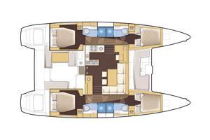 Lagoon 450 - Premium A/C (Take it Easy)  - 10