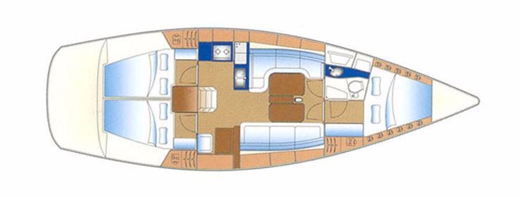 Bavaria 38 cruiser (DELMAT)  - 14