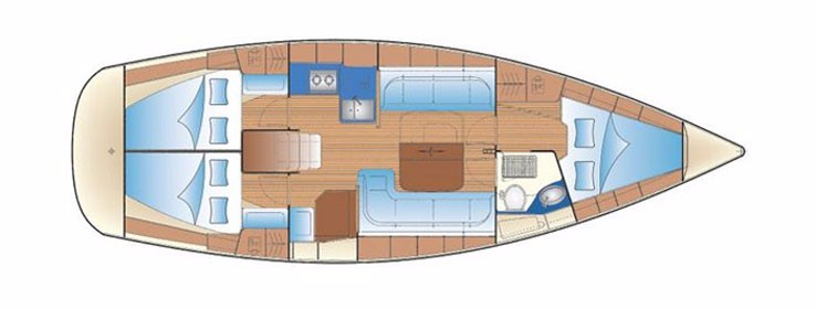 Bavaria 37 cruiser (ELICA)  - 15