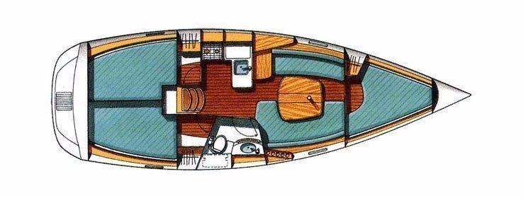 Oceanis 331 (JAGODA)  - 18