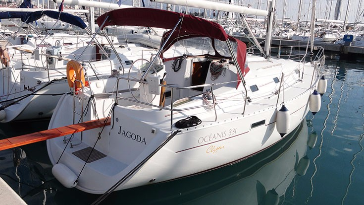 Oceanis 331 (JAGODA)  - 9