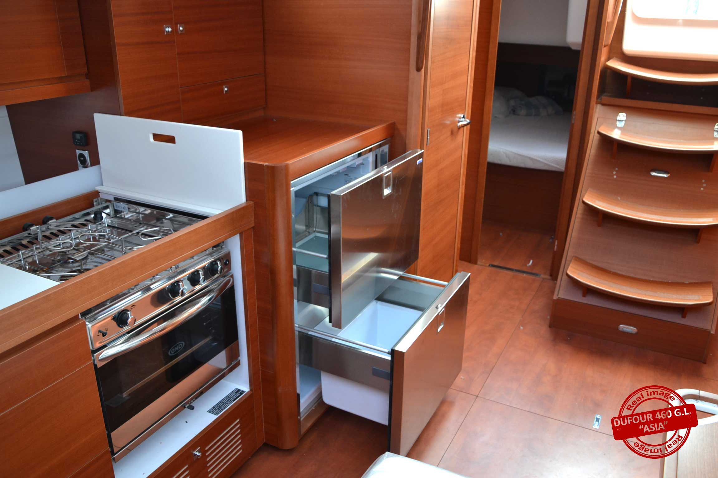 Dufour 460 Grand Large (Asia)  - 13
