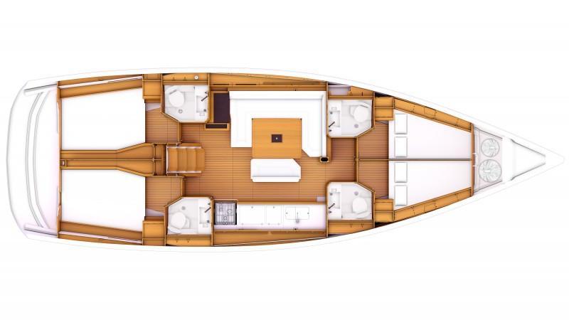 Sun Odyssey 469 (Idra)  - 16