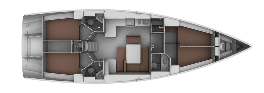 Bavaria 45 Cruiser (Tiresia)  - 14