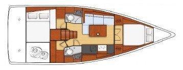 Oceanis 381 (THAT WAY)  - 12