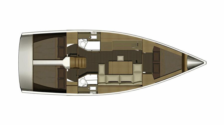 Dufour 382 Grand Large (Scafo)  - 5
