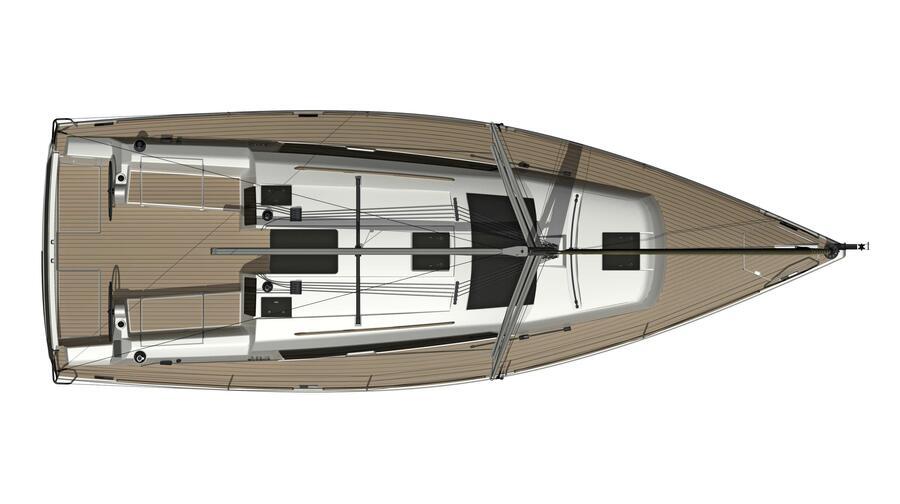 Dufour 382 Grand Large (Scafo)  - 4
