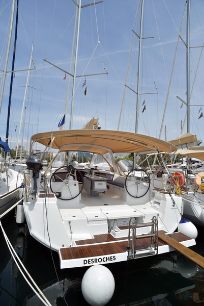 Oceanis 48 with A/C (DESROCHES)  - 3