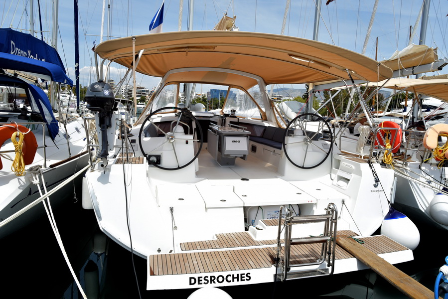 Oceanis 48 with A/C (DESROCHES)  - 34