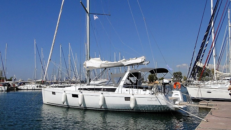 Oceanis 48 with A/C (FARQUHAR)  - 3