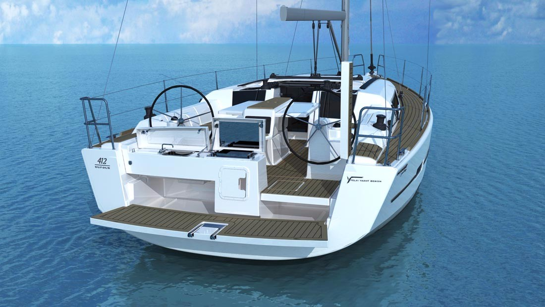 Dufour 412 Adventure with watermaker (LIAISON)  - 3