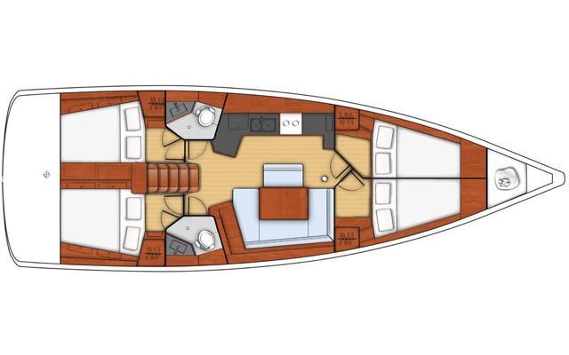 Oceanis 45 (Ayther)  - 2