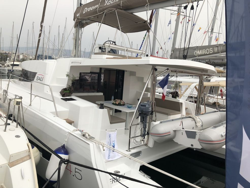 Bali 4.5 with watermaker & A/C - PLUS (JERSEY)  - 1