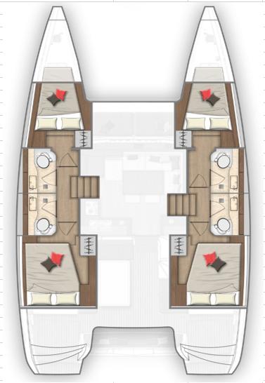 Lagoon 40 (Amalia II)  - 2