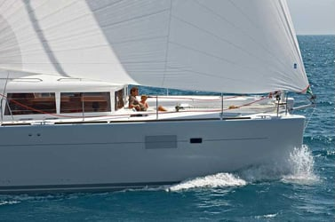 Lagoon 450 Sportop O.V. with watermaker & A/C - PL (ORION)  - 0