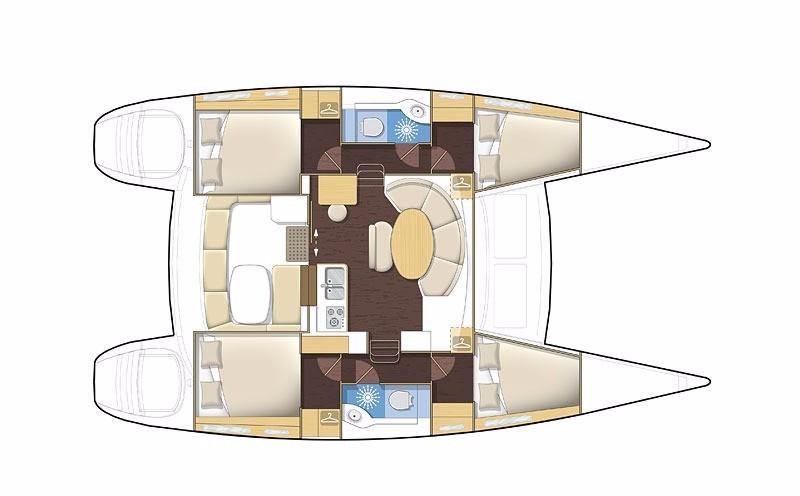 Lagoon 380 (Bellevue)  - 0