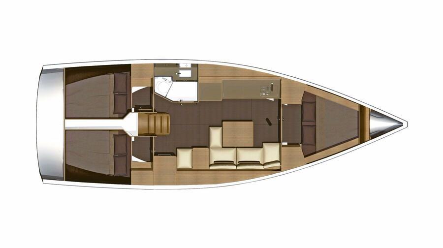 Dufour 382 Grand Large (Hamble Dream)  - 6