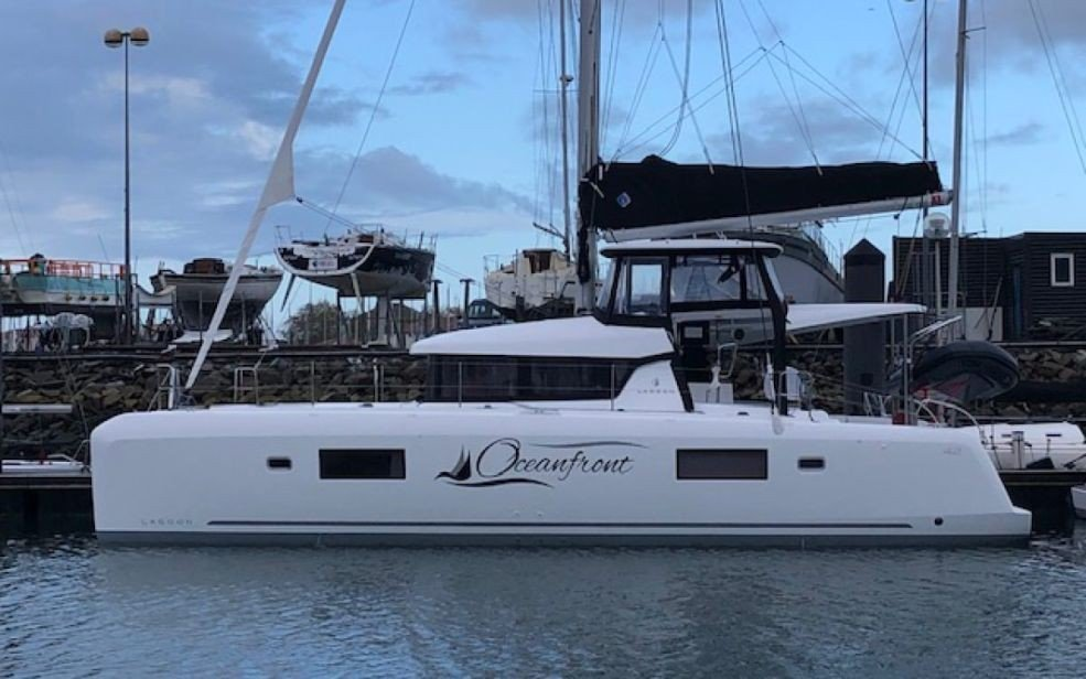 Lagoon 42 with A/C (Oceanfront)  - 0