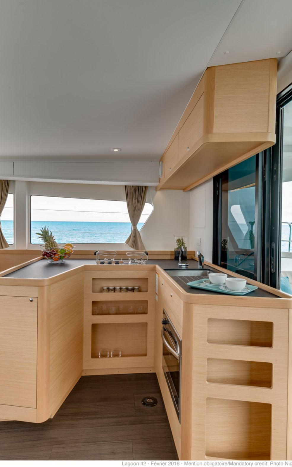 Lagoon 42 with A/C (Oceanfront)  - 3