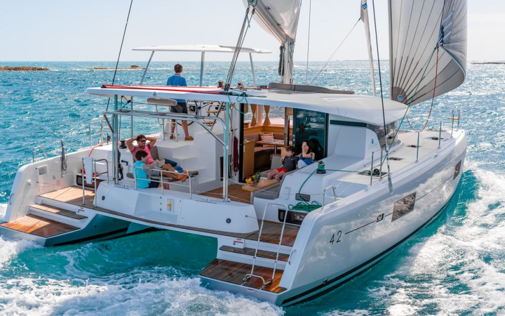 Lagoon 42 with A/C (Oceanfront)  - 7