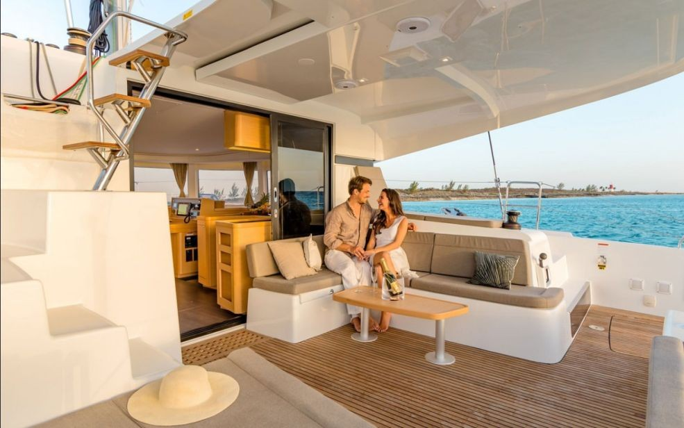 Lagoon 42 with A/C (Oceanfront)  - 2