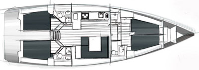 BAVARIA CRUISER 45 (4082)  - 14