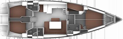 BAVARIA CRUISER 51 (4086)  - 4