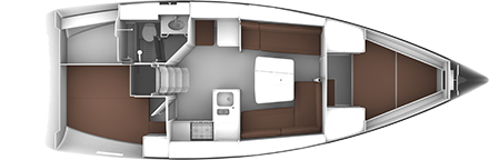 BAVARIA CRUISER 37 (4088)  - 17