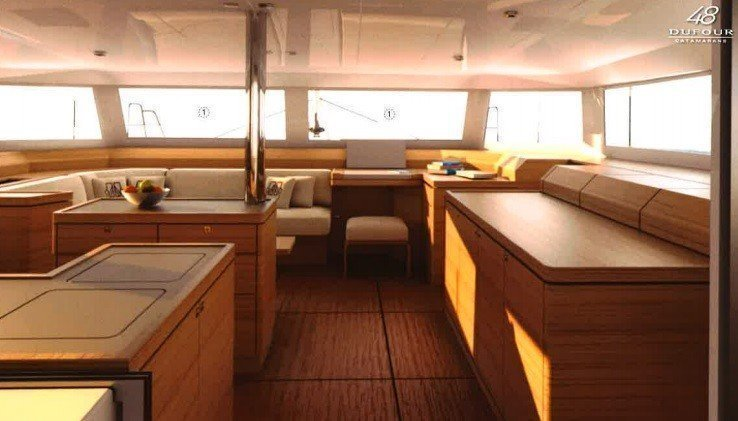 Dufour Catamaran 48 Luxe with A/C (BELIEVE)  - 4