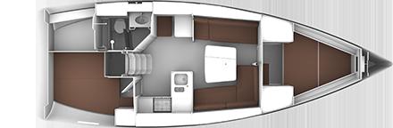 BAVARIA CRUISER 37 (4101)  - 17