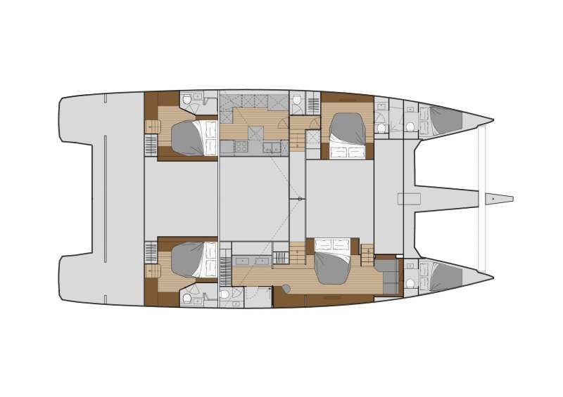 Fountaine Pajot Alegria  67 (Number One)  - 14