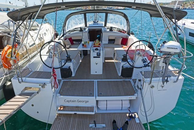 Sun Odyssey 490 (CAPTAIN GEORGE)  - 23