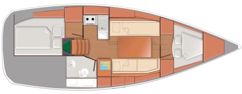 Sun Odyssey 319 (Pupatella)  - 3