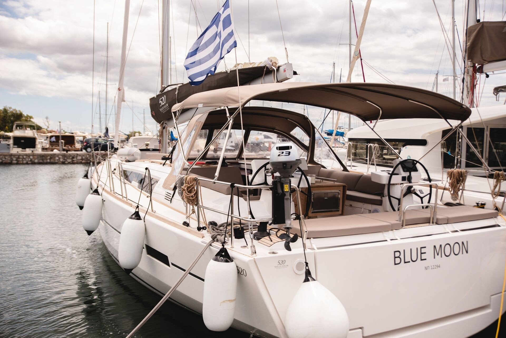 Dufour 520 GL (Blue Moon)  - 22