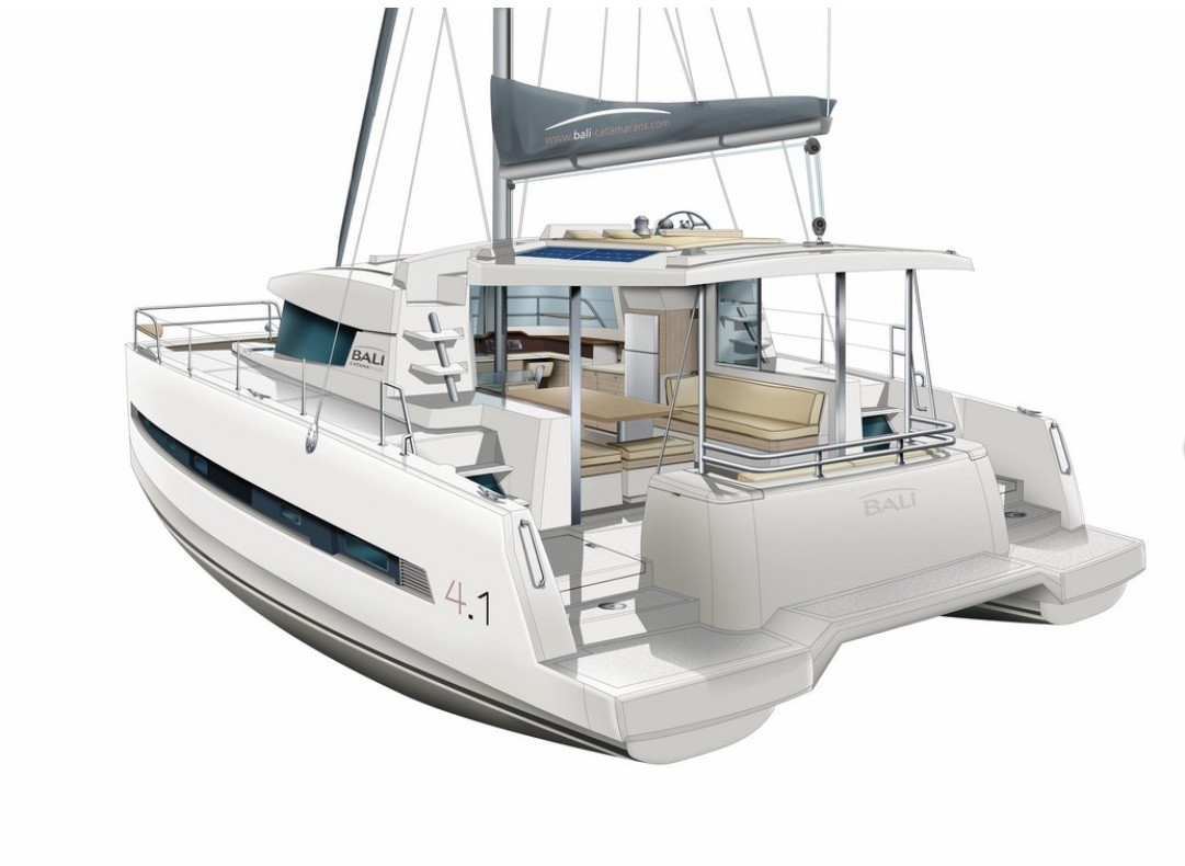 Bali 4.1 with watermaker (CALAO)  - 4