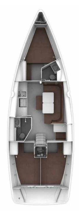 Bavaria Cruiser 41 (Oberon)  - 3