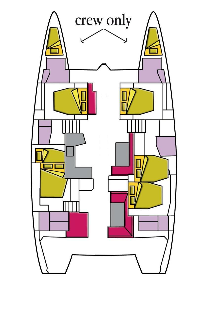 Lagoon 52 (Dugongo II)  - 9