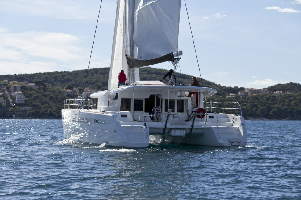 Lagoon 450 F with A/C (PIX)  - 4