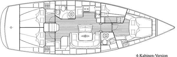 Bavaria 46 Cruiser (Birdie GRE)  - 2