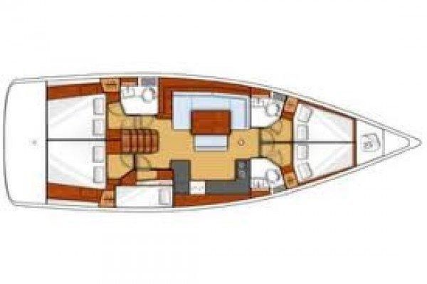 Oceanis 46.1 (Röde Orm)  - 12