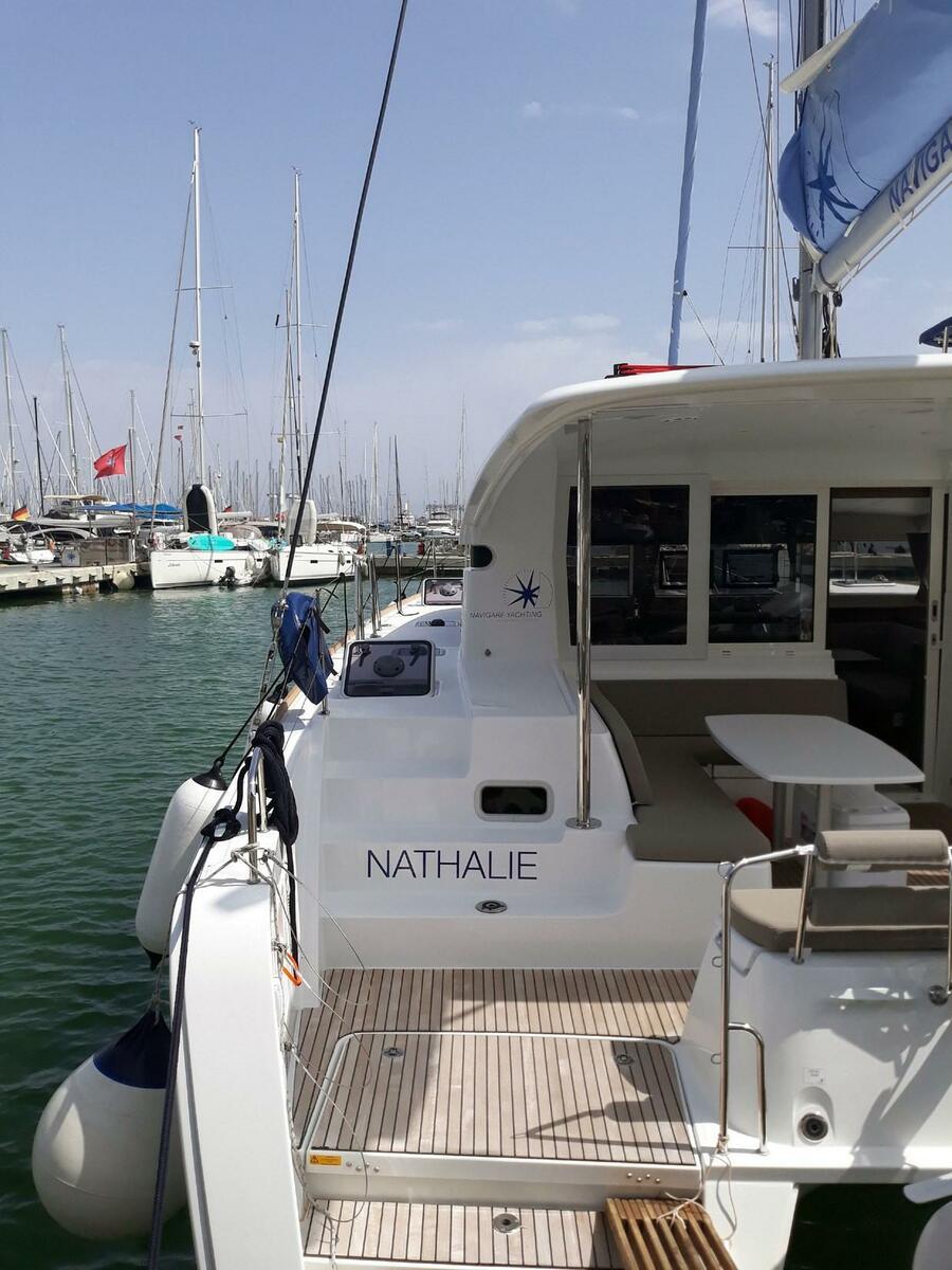 Lagoon 40 (Nathalie Cabin Charter 1)  - 1