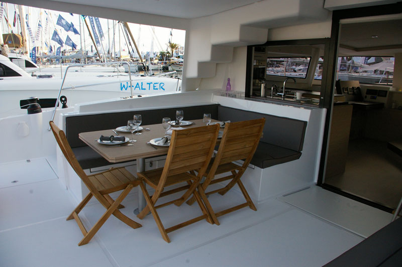 Bali 4.5 with watermaker & A/C - PLUS (CORYLLIS)  - 8