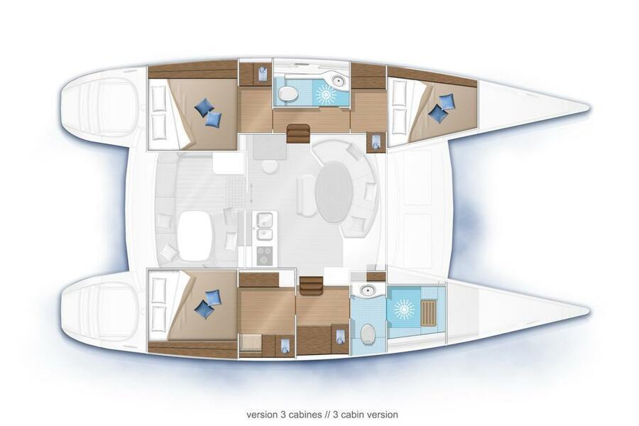 Lagoon 380 (SAINT BLUE)  - 39