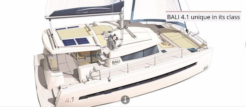 Bali 4.1 with watermaker & A/C - PLUS (JACANA)  - 0