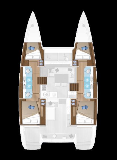 Lagoon 40 (Milu 2.0)  - 7