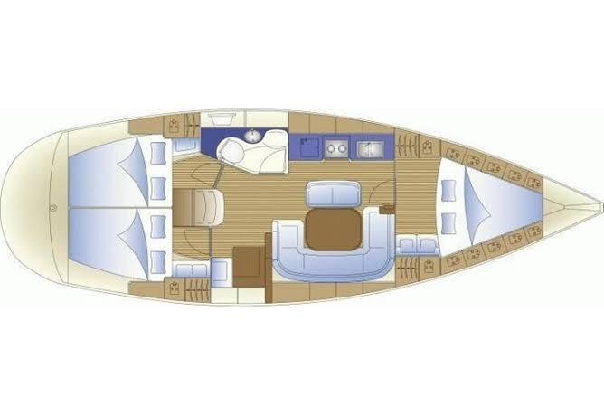 Bavaria 38 Cruiser (MAVI ADA)  - 10